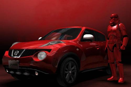 Star Wars Stormtrooper gets custom look in Nissan campaign